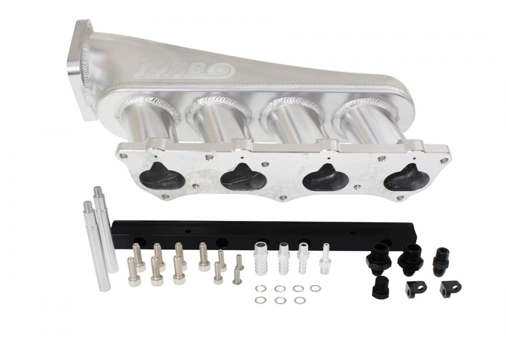 Kolektor ssący Honda Civic Integra Type R K20 z listwą paliwową - GRUBYGARAGE - Sklep Tuningowy